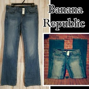 BANANA REPUBLIC Jeans Size 28 Size 6 Bootcut long